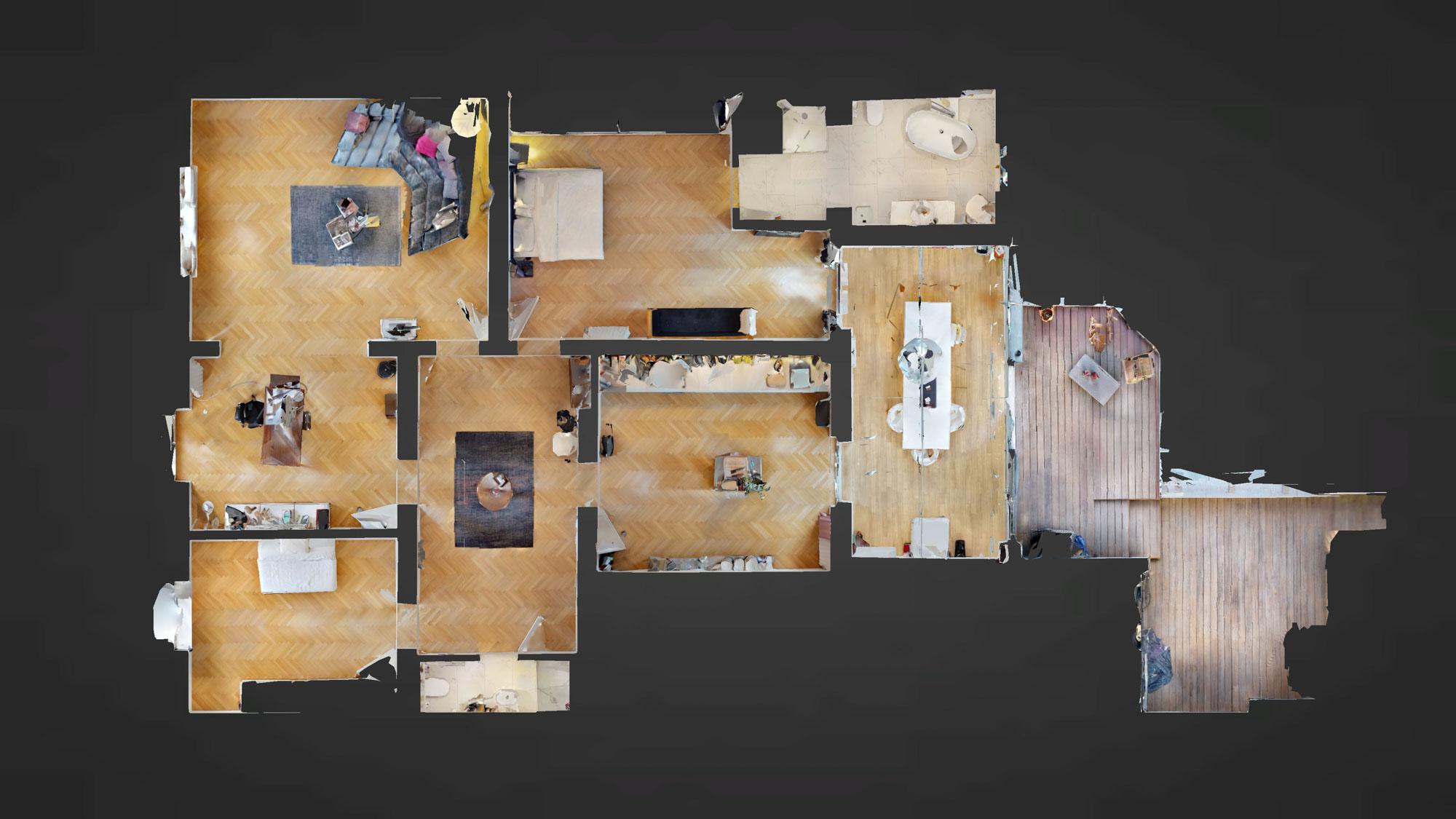Luxuriöses 200qm Apartment in Oberkassel