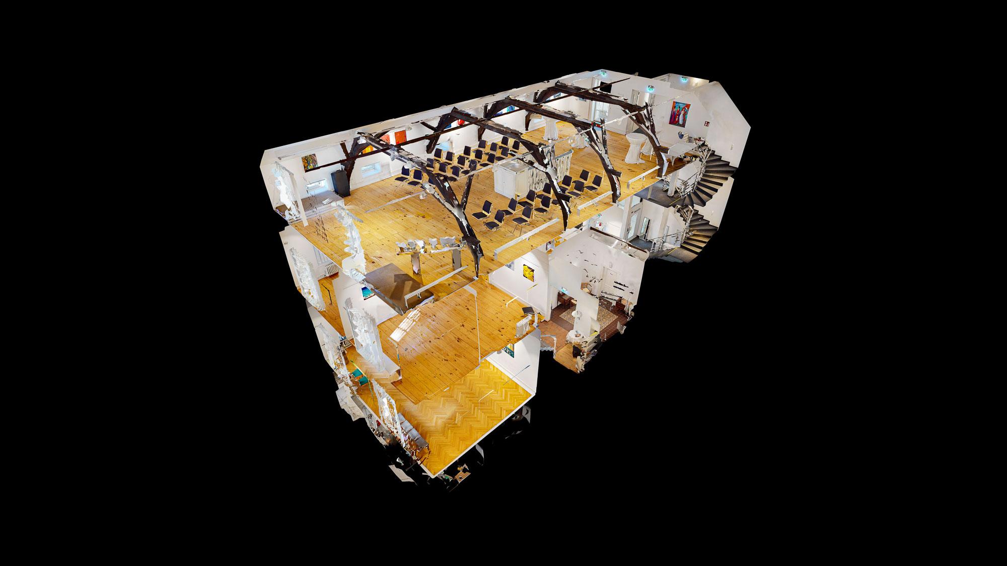 Galerie Peschkenhaus in 3D
