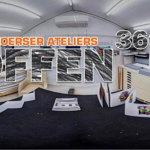 """Moerser Ateliers """"Offen"""" - 360°"""