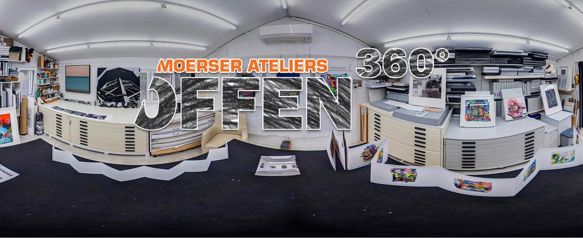 """Moerser Ateliers """"Offen"""" -360°"""