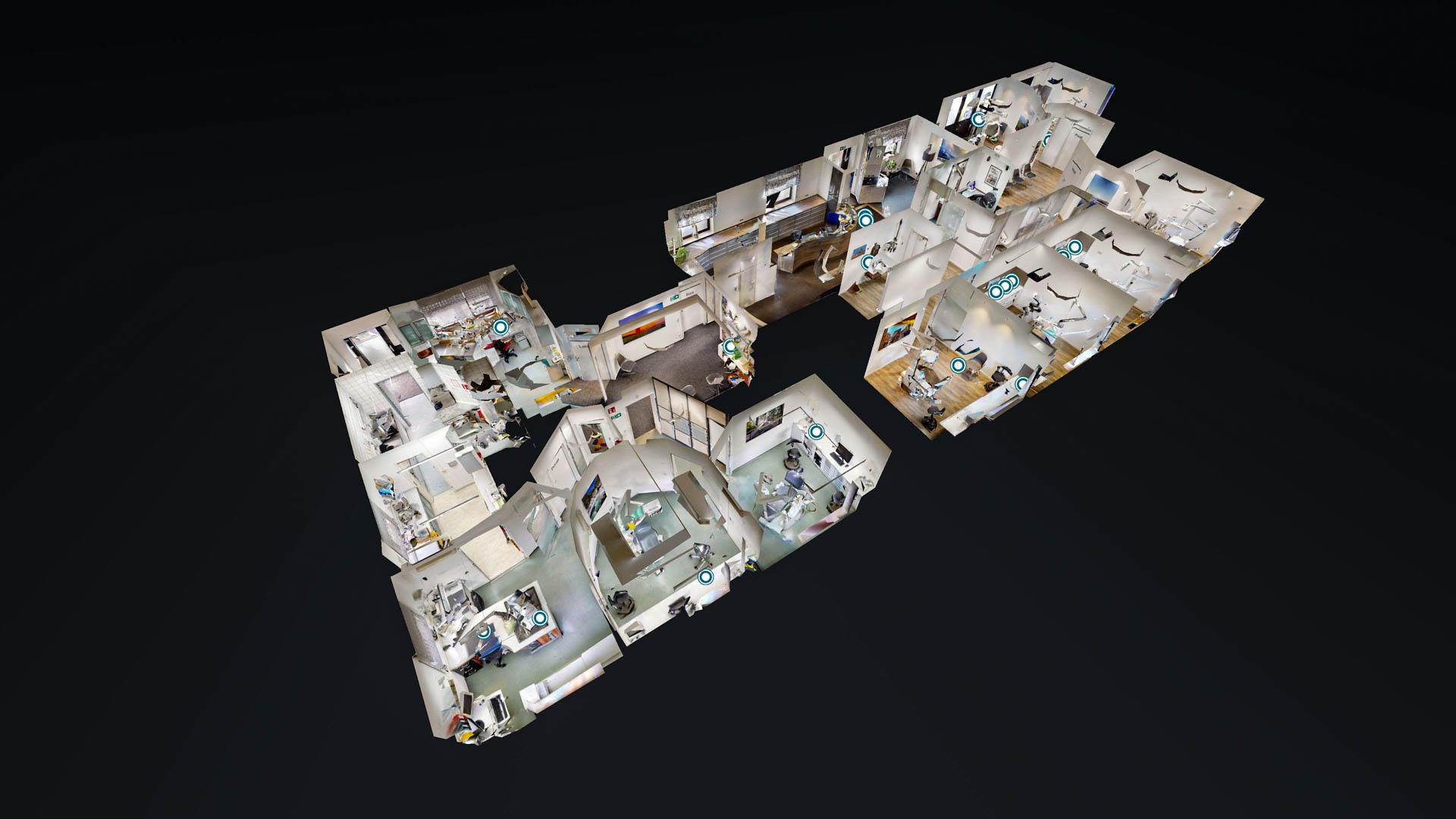 Zahnarztpraxis Maroof & Kollegen in 3D